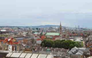 A view of Dublin, Ireland