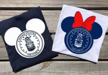 Air Force Disney Shirts