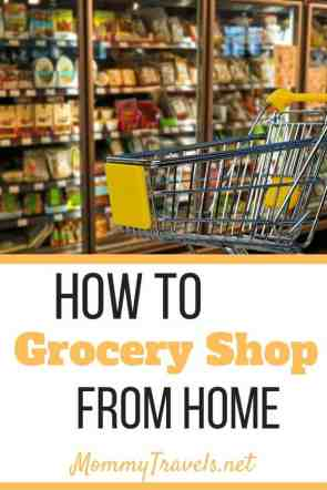 How to grocery shop from home