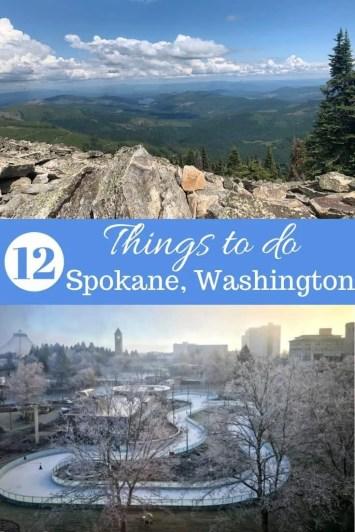 12 Things to do in Spokane, Washington