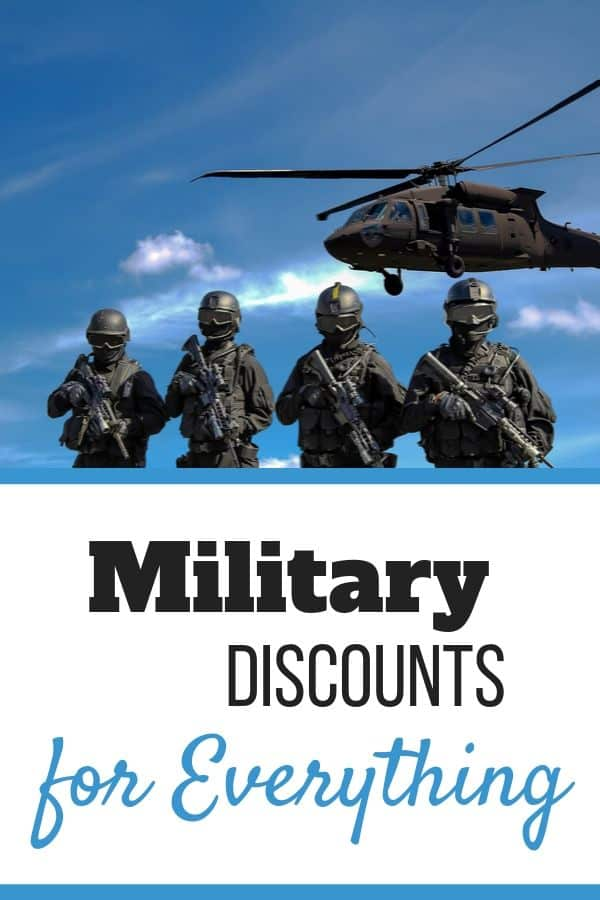 Military Discounts on Everything