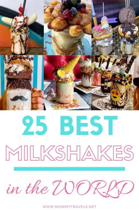 25 Best Milkshakes in the world