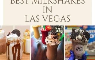 Best Milkshakes Las Vegas