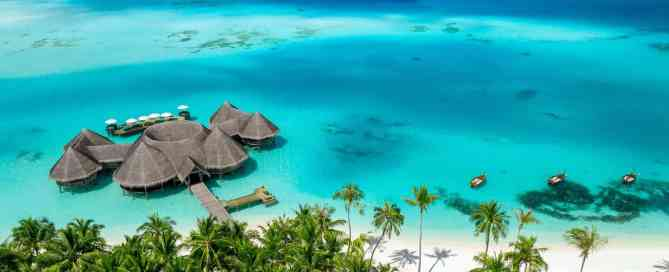 Gili Lankanfushi in Maldives drone photo