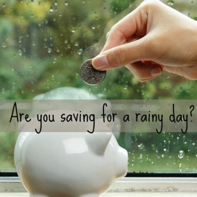 {Money Mondays} How To Save For A Rainy Day