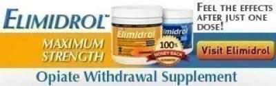 Elimidrol Opiate Withdrawal Supplement