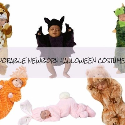 Most Adorable Newborn Halloween Costumes Ever 2017!