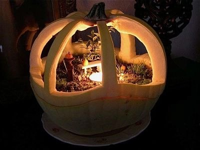affordable-outdoor-halloween-fairy-garden-idea