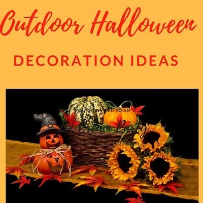 Affordable Outdoor Halloween Decoration Ideas