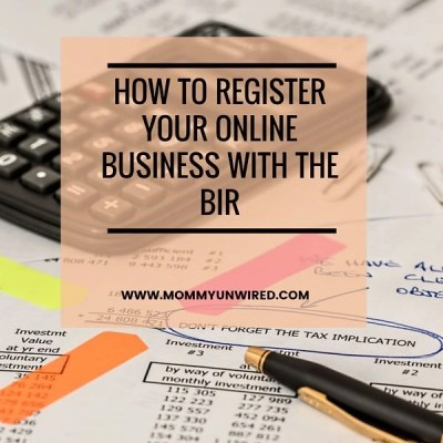 How To Register Your Online Business With the BIR