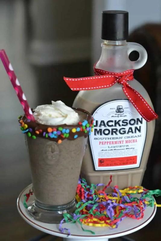 Peppermint Mocha Milkshake