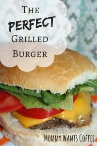Grilled Burger Pinterest