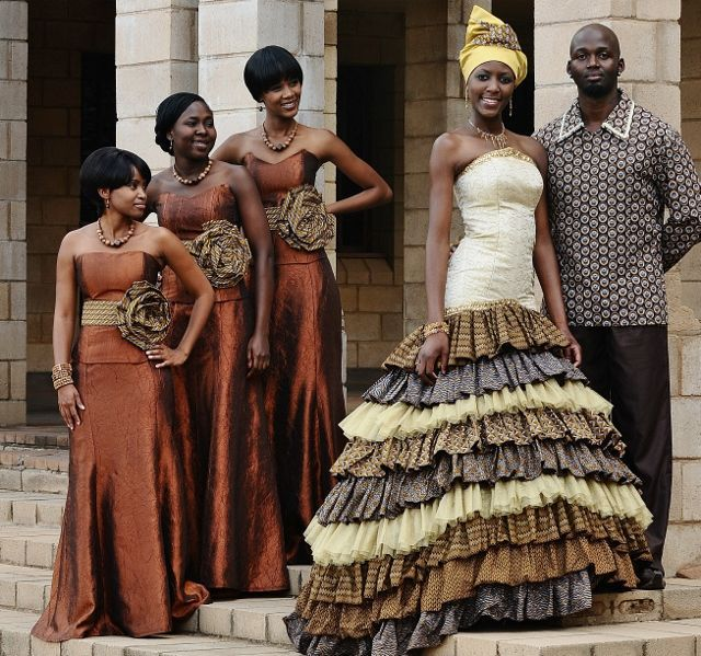 Five African Wedding Designers Who Have Changed Our Wedding Outfits ...