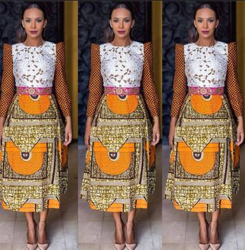 The Most Fashionable Ankara Styles Skirt Blouse You Should Try Momo Africa