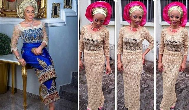 7f7ddf7cf1d9d Lace Blouse And Wrapper Styles Ideas For Fashionistas - MOMO AFRICA