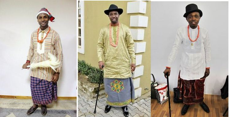 Traditional Shirt Wear and Wrapper For Men - MOMO AFRICA