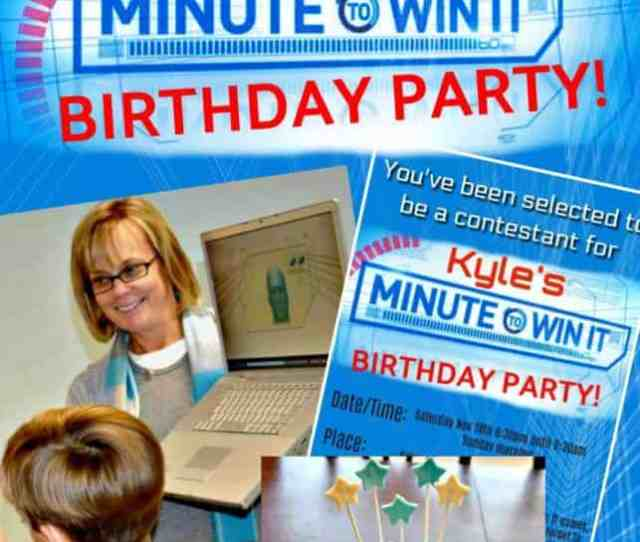 Fantastic Ideas For Hosting A Minute To Win It Birthday Party At Home This Post