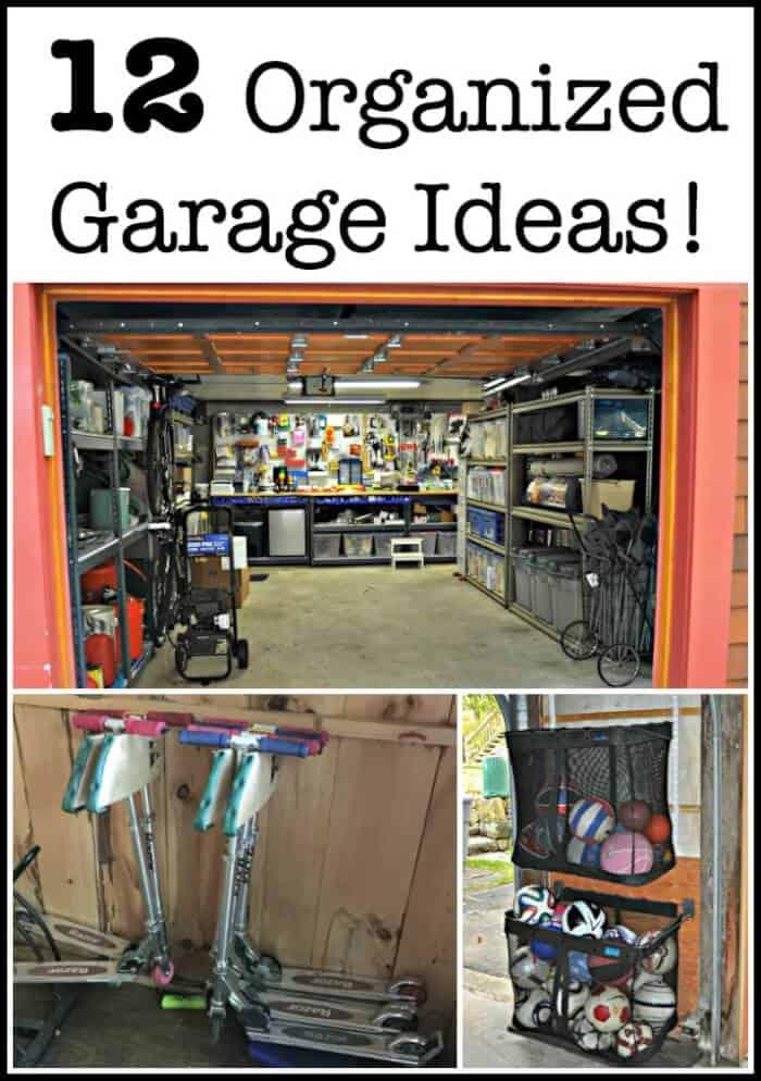 12 Organized Garage Ideas! - MomOf6 on Organized Garage  id=37084
