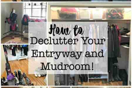 How to Declutter Your Entryway and Mudroom    MomOf6 This is the first post in our series  The Busy Moms Decluttering Challenge   Here s
