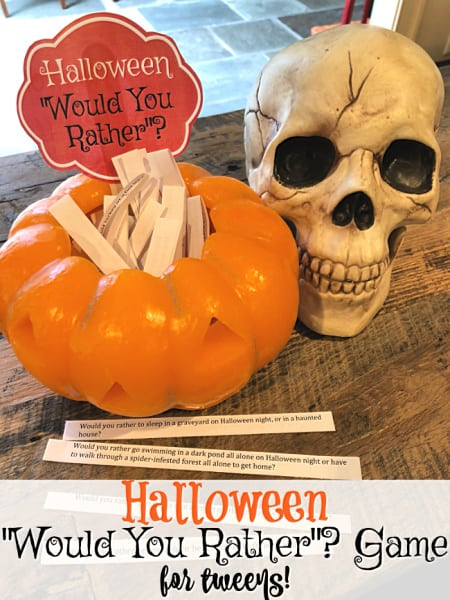 Spooky gift box ribbons & medals: Halloween Party Ideas For Kids Momof6