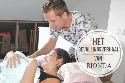 Het bevallingsverhaal van: Bionda