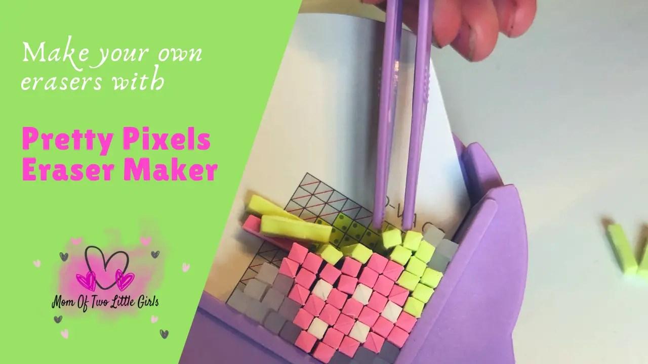 eraser maker pretty pixels