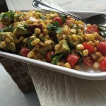 Mesquite Corn and Veggie Salad
