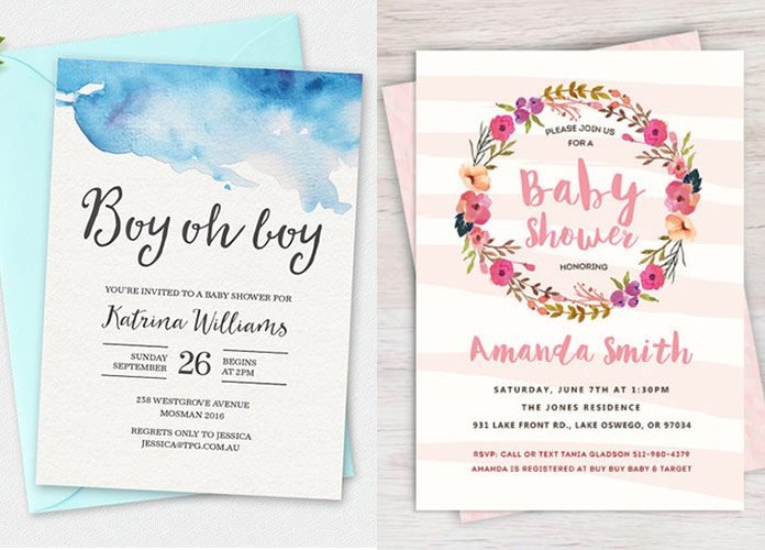 Baby Shower Invitations 100