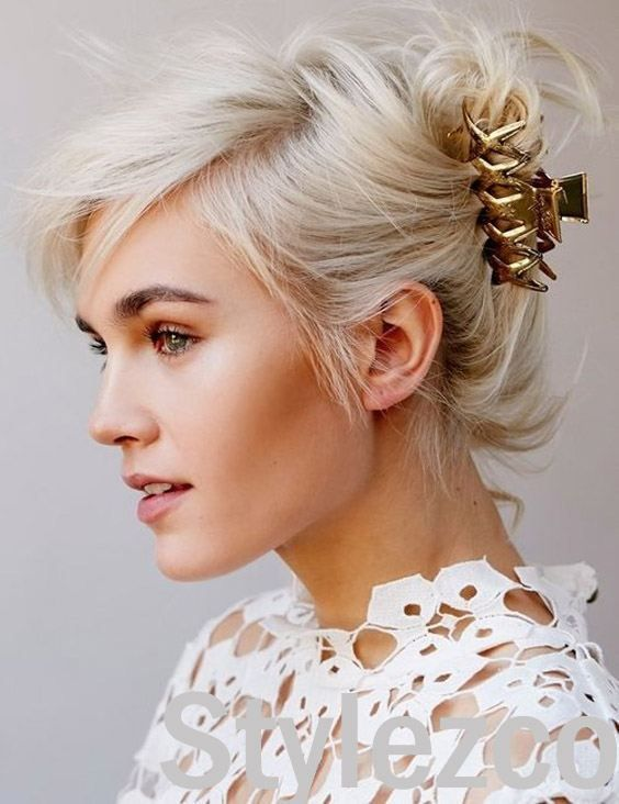 20 Claw Clip Hairstyles For Any Hair Length Momooze Com