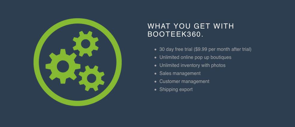 Booteek360 Facebook Pop Up Shop Management - mompreneuradvice.com