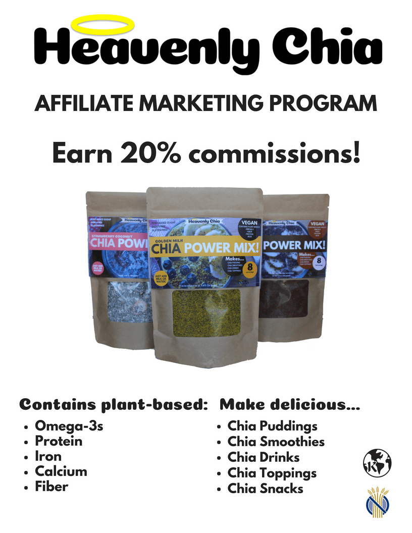 Heavenly Chia Affiliate Program - HeavenlyChia.com