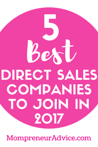5 Great Direct Sales Companies for 2017