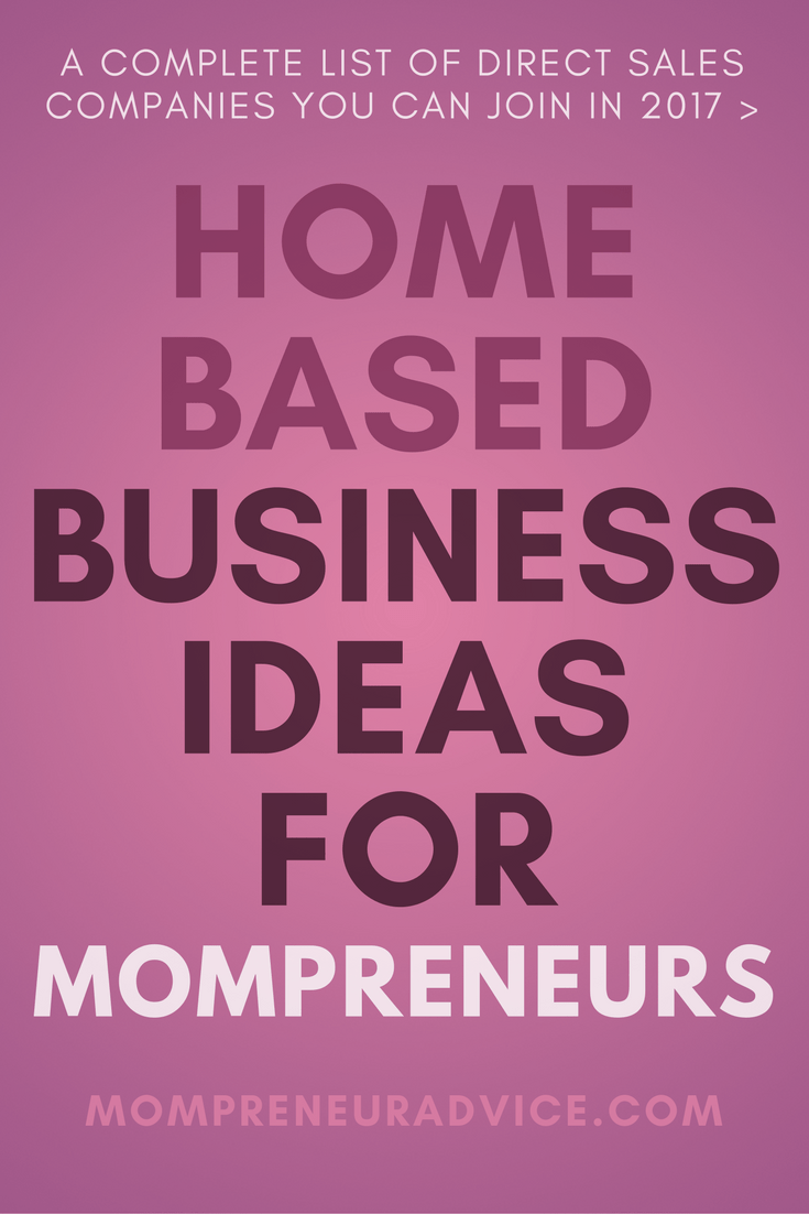 Here's our complete list of home based business ideas for moms - MompreneurAdvice.com