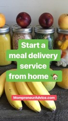 Start a meal delivery service in your local area