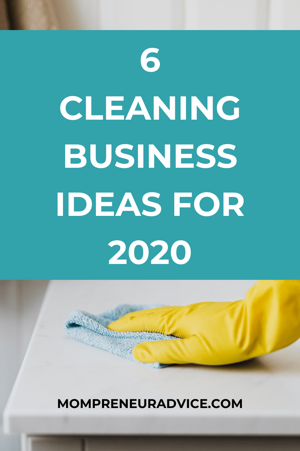 Here's 6 cleaning business ideas for 2020 - mompreneuradvice.com