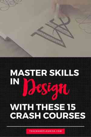 Pinterest Teach and Flourish Master Design