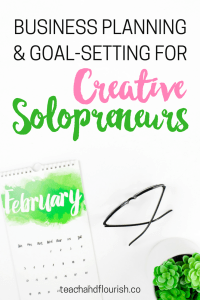 If you're a solopreneur, business planning and goal-setting must become an everyday part of your business. Here's my monthly business strategy plan.
