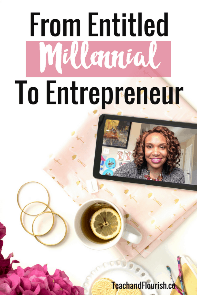 Do you feel like society owes you? Well I did too! Here's how I transitioned from a self-proclaimed entitled millennial to an entrepreneur. Click through. to read the full post.