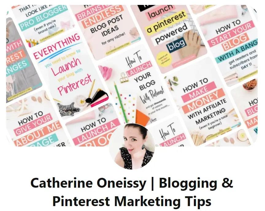 Catherine Oneissy Pinterest Expert