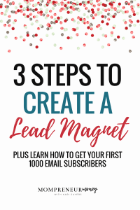 Every blogger should create a lead magnet to help convert readers into email subscribers. Use this simple 3-step checklist to get started.
