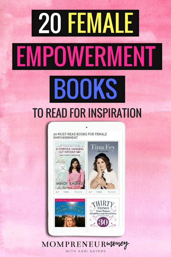 These 20 Female Empowerment Books are must reads for inspiration and motivation for women.