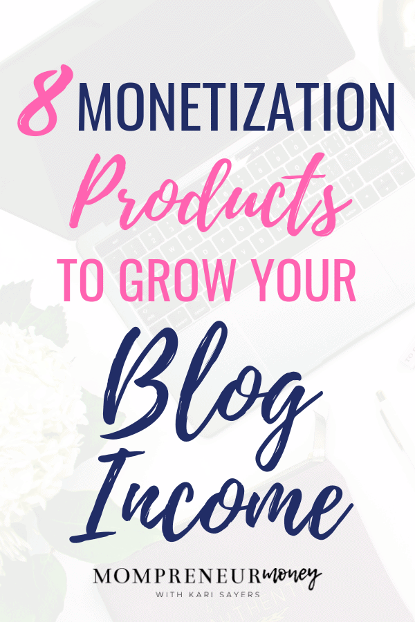 Check out these 8 monetization products to help you turn your blog into a money-making business that earns income month after month.