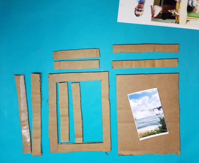 How To Make A Picture Frame From Cardboard Box Siteframes
