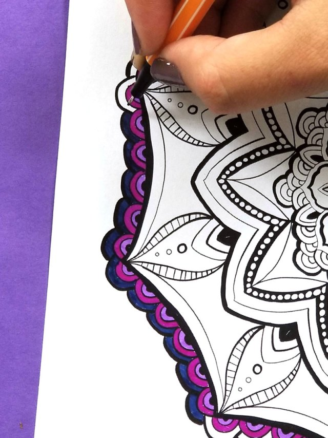 Free Printable Mandala Coloring Pages for Adults * Moms and Crafters