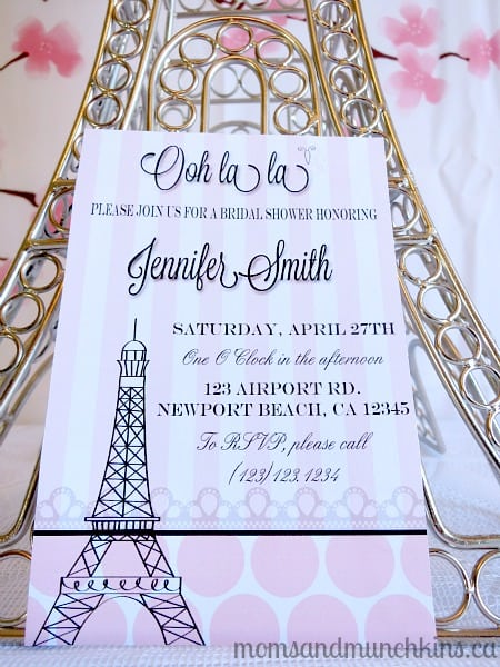 Bridal Shower Invitations Kitchen