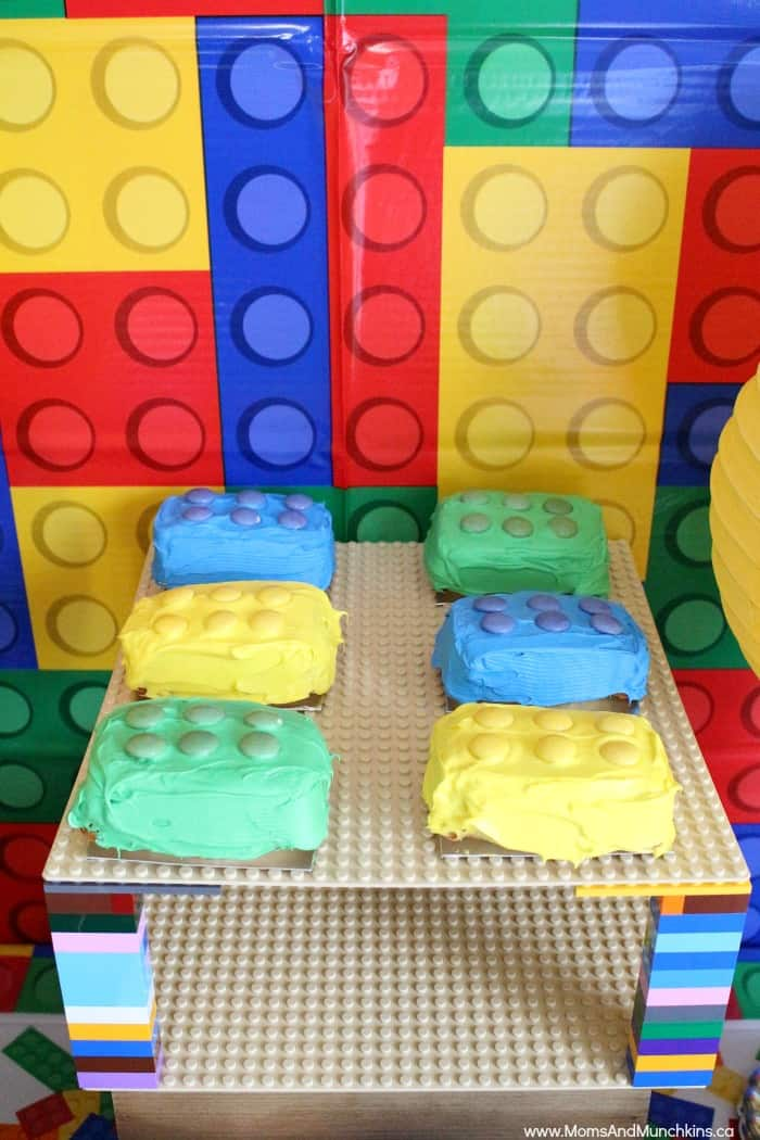 Lego Party Ideas DIY Projects And Supplies Moms Amp Munchkins