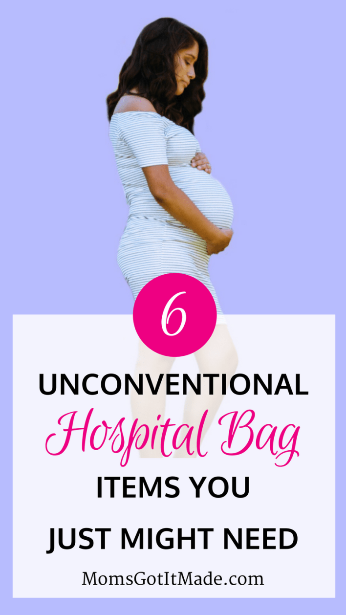 Unconventional hospital bag ideas I wish someone had told me about before my son was born. #Baby #Pregnancy #hospital