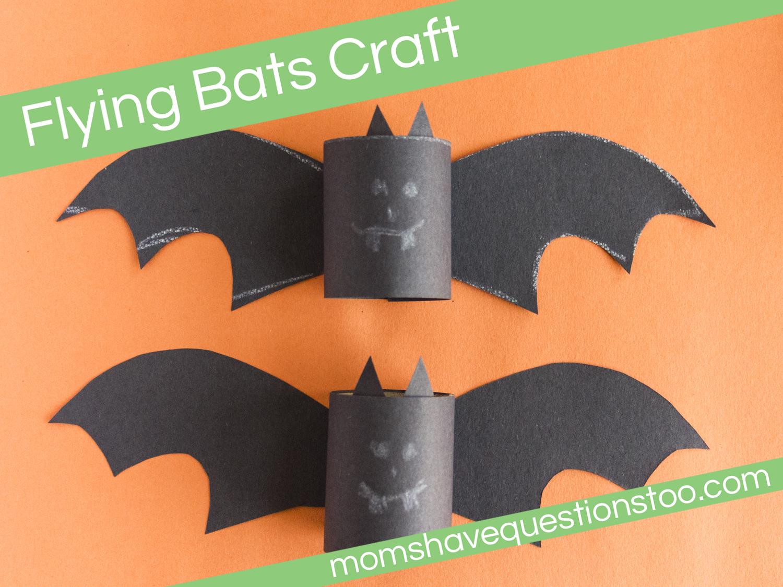 Flying Bats Craft