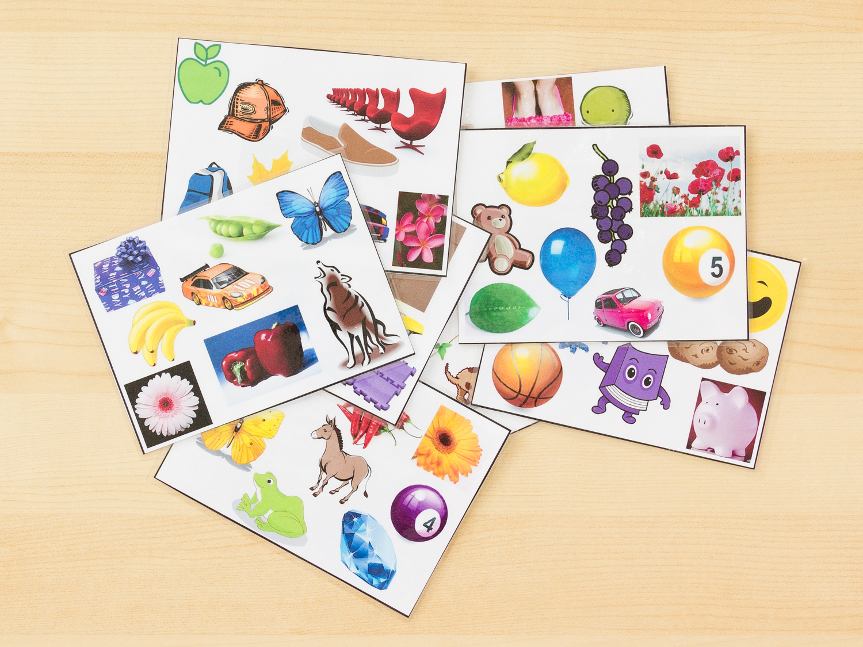 I Spy Color Cards