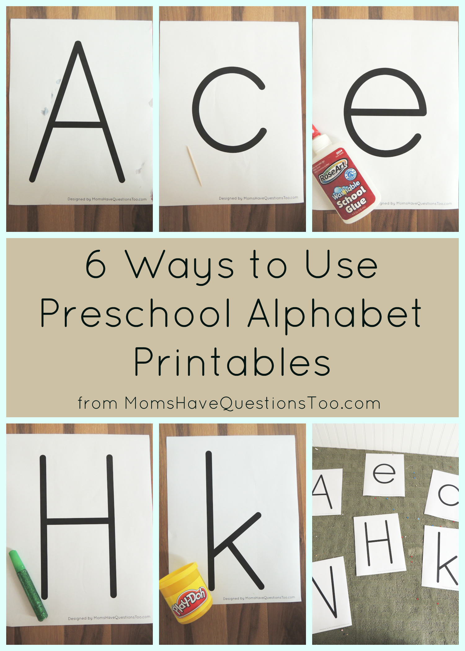 6 Ways To Use Thin Letter Alphabet Printables